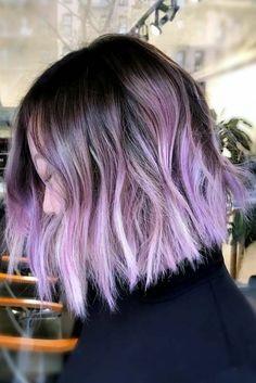 Image result for lilac balayage straight bob