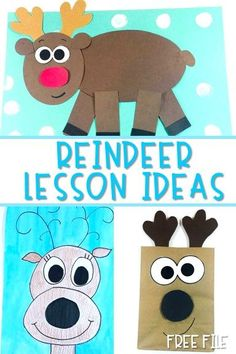 Reindeer Lesson Plans with informational text Free file. Includes crafts, writing, reading and more for your kindergarten lessons or first grade lessons. Preschool Lesson Plans, Art Lesson Plans, Preschool Activities, First Grade Crafts, Abc Phonics, First Grade Lessons, Preschool Christmas, Christmas Activities, Noel