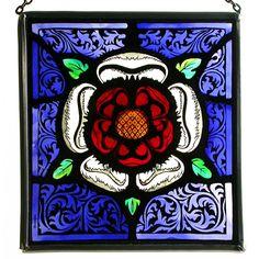 Square panel - Tudor Rose