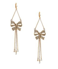 betsey johnson, these would match my necklace!