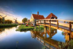 Zaanse Schans, Holland, The Netherlands