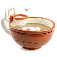 The Mug With A Hoop. Basketball player gifts. (Easter basket ideas for teenage boys)