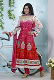 atisundar Inika: Resplendent Unstitched Embroidery Salwar Kameez