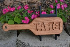 Wood Spanking Paddle BDSM inches by 12 inches Brat mirror Carved Daddy Dom Little Girl, Little Girls, Red Room Decor, Butcher Block Conditioner, Red Rooms, Red Oak, Custom Engraving, Paddle, Mother Nature