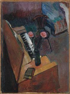 Interior With Harmonium - Henri Matisse, 1900, Musee Matisse