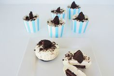 No Bake Oreo Orgasmic Bites . Four ingredients, no bake, hit the spot foodgasm with every bite! Ok, do we have your attention. No Bake Biscuit Cake, Oreo, Biscuits, Pudding, Sweets, Baking, Desserts, Recipes, Food