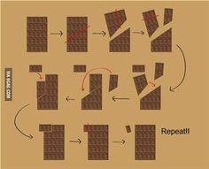 Scroll2Lol.com - How to eat chocolate indefinitely