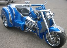 Boss Hoss Trike. There you go Mom. :)