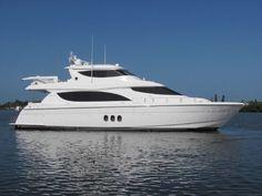80' Hatteras Motor Yacht July 2014