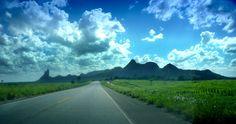Estrada em Trancoso. Brasil...eu amo!