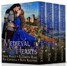 Medieval Hearts, a collection of four full-length historical romance novels,  features Enthralled (Viking Lore, Book 1), Emma Prince) All four books for just 99 cents, or read it for free with KU!
