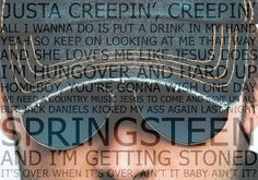 Eric Church, Creepin male celebs music typography country song lyrics