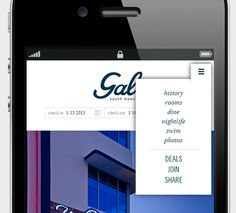Responsive Solutions To Design Menu Navigation In Low Resolution Mobile Screens Interactive Design Web Design Web Design Inspiration
