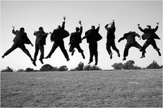 All the groomsmen must be jumping for joy, because it isn't them getting married.