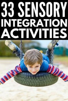 33 sensory diet activities for kids with autism and/or sensory processing disorder | With occupational therapy tools and ideas, this collection of fun activities is perfect for toddlers, preschoolers, kindergarteners, and school-aged kids, and can be practiced both in the home and in the classroom at school. Perfect for parents and teachers alike, we've included proprioceptive, vestibular, tactile, auditory, visual, olfactory, and oral motor activities to address all your child's needs!