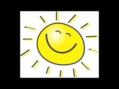 Comptine Si tu aimes le soleil illustrée à imprimer