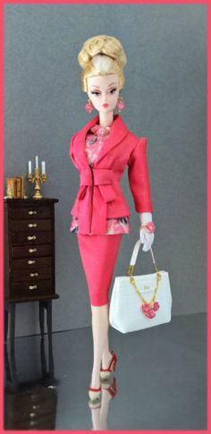 OOAK-Fashions-for-Silkstone-12-Fashion-Royalty-Vintage-barbie-Poppy-Parker