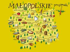 Culinary Map of Lesser Poland #polishtrails