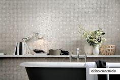 #RADIANCE | #Grey | #Mosaic | #AtlasConcorde | #Tiles | #Ceramic
