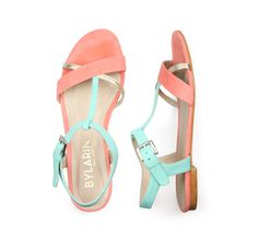 Discover our INDIAN MIAMI PEACH sandals at bylarin.com Price: 85€