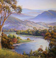 Murray River Morning | Morpeth Gallery by John Bradley