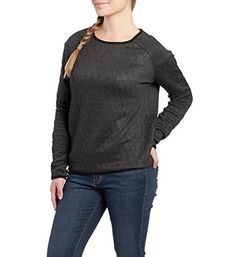 JAG Jeans Womens Lorna Top M Charcoal Heather -- See this great product.