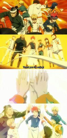 TV Time - Food Wars! Shokugeki no Soma S03E04 - A Pride of Young Lions (TVShow Time)