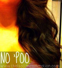 no poo thick asian hair