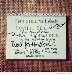 I am confident card quote april 2014