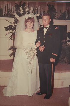 Kim Minnick's parents, 1967