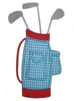 See It All :: Golf Bag Applique