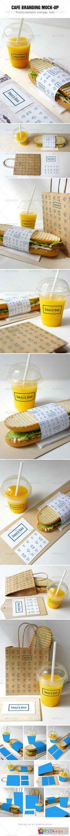 Cafe Branding Mockup 7910612