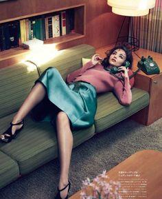 Фотосессия под названием «Miranda on My Mind» для журнала Numéro Tokyo