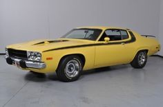 1973 Plymouth Road Runner with a 440 Six Pack and only 30,873 miles!