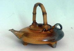 M.Wein Wood fited teapot