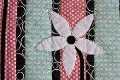 Flower Petal Guestbook Quilt