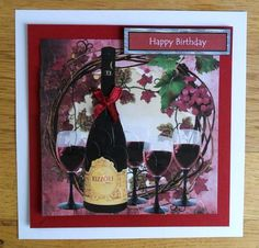 Card Gallery - A Fine Reserve  Card made by Johanna Lambert