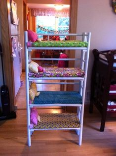 Diy 18 Inch Doll Bunk Bed