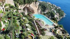 Monastero Santa Rosa Hotel and Spa Park Italy Tourism, Hotel Spa, Cool Watches, To Go, Fair Grounds, Around The Worlds, Park, Places, Santa