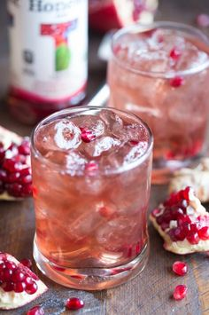 Pomegranate-Ginger Fizz | 15 Boozy Cocktails For Anyone Who Loves Ginger Ale