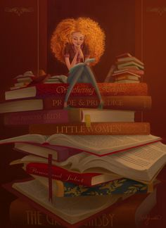Reading for the weekend / Lecturas PARA el fin de semana (ilustración de Kristy Lender)