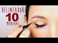 10 formas para delinear tus ojos en pocos minutos -