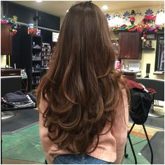 Haircuts For Long Hair With Layers, Haircuts Straight Hair, Long Hair Cuts, Layered Long Hair, Hair Long Layers, Layered Cuts, Styling Layered Hair, Haircut In Layers, Layered Hairstyles With Bangs