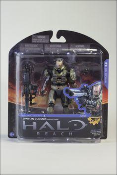 Spartan Gungnir Custom (Male) Series 5 Halo Reach action figure