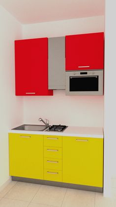 Mini kitchen in 150 cm