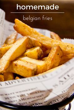 Finally sharing my family's Belgian fries recipe, as long as you promise to swap ketchup for mayo! Yes Belgian- not French!