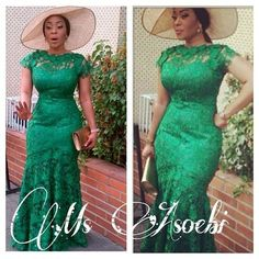 Ankara and Lace Gown Combinations Styles