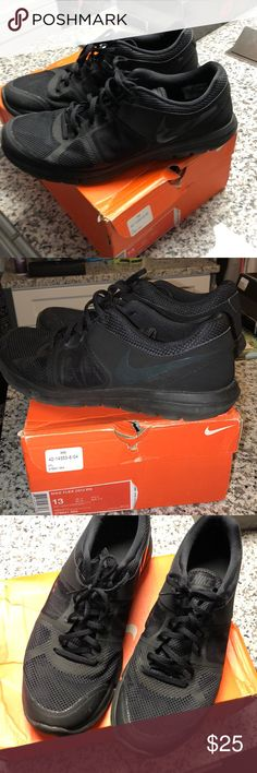 577cdb3b05c23 Shop Men s Nike Black size 13 Sneakers at a discounted price at Poshmark.  Description  Flex 2014 run size Sold by Fast delivery