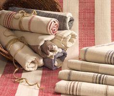 French Stripe Fabric