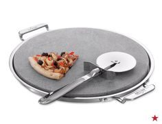 You wouldn't watch the big game without a slice a pizza, so why create a registry without a pizza stone? This set from All-Clad includes a serving tray and pizza cutter what can be used for flatbreads, quesadillas and, of course, some 'za!